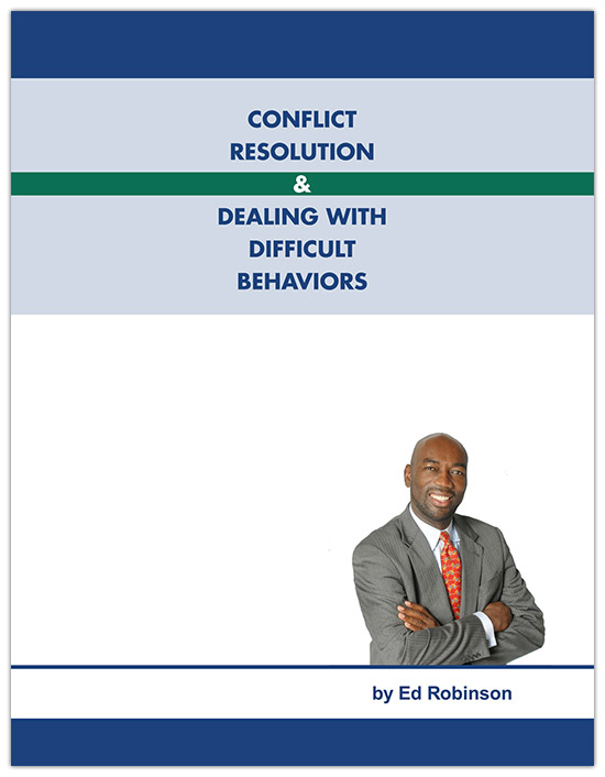 Conflict Resolution & Dealing with Difficult People